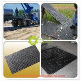 Желтый Wear-Resisting HDPE временной дорожной коврики