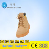 Alte calzature del lavoro di sicurezza dei pattini di sicurezza del taglio per Heavy Industries