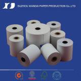 Papel termal de la alta calidad termal del rodillo 57m m del papel de la posición del rodillo 57m m del papel termal del papel termal 57m m de 57m m x de 40m m hasta el rodillo del papel de caja registradora del rodillo 57m m