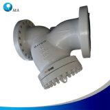 ANSI van DIN de Zeef van de Klep Y van de Filter van het Staal met het Scherm en het Netwerk van het Roestvrij staal