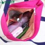 100% handhabten organische die Mädchen-Entwürfe Beutel-Frauen-Segeltuch-Beutel-Handtaschen