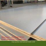 18 mm de melamina blanca Tablero de partículas para la fabricación de muebles