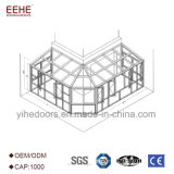 El Sunroom de cristal del mirador de la venta caliente artesona a surtidor chino