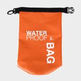 Nuoto impermeabile esterno della canoa dello zaino di nylon del sacchetto asciutto che si accampa facendo un'escursione gli zainhi di grande capienza 2L