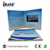 Рекламный видеоролик буклет бизнес подарок использует 7 дюйма видео брошюра