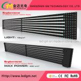 Impermeable al aire libre transparente de protección IP67 P16 en la pantalla de LED de la publicidad digital de vídeo