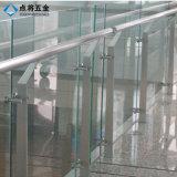 Pasamano moderno de la barandilla de las escaleras del acero inoxidable SS316 de los Ss 304 de la casa