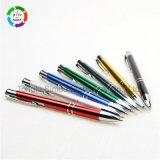 Bolígrafo de aluminio Hot-Selling material de oficina para regalo promocional
