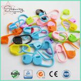 Plástico ABS populares Marcador para a Colagem de tricotar o pino de segurança como ferramenta de croché
