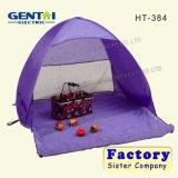 Il modo è tenda di campeggio conveniente delle 2 persone - il colore giallo