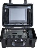 El dúplex completo de audio HD portátil Maletín Receptor de vídeo, acceso gratuito y Yagi Antena All-Around