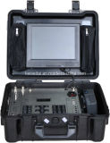 De duplex Audio Volledige Draagbare VideoOntvanger van de Koffer HD, Vleiende Yagi en Globale Antenne