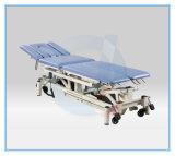 Table de traitement médical électrique avec la face de l'ouverture profilée