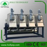 Schmierölfilter-Presse-Maschinen-Klärschlamm-entwässernmaschine mit Spindelpresse
