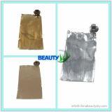 Пробка сливк руки цвета волос косметики упаковывая пустая алюминиевая складная