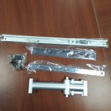 De aluminio a presión el muelle de puerta hidráulico del color de plata de la fundición