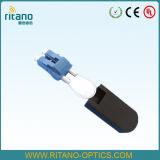 Cordon de connexion de fibre optique de réalimentation de LC avec la perte inférieure à 0.25dB seulement