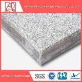 Le marbre pierre léger en aluminium haute résistance placage de panneaux d'Honeycomb pour plafonds/ soffite/ REVETEMENT DE TOIT