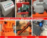 半自動Sy1-10か機械、粘土の煉瓦作成機械を作るフルオート油圧ブロック