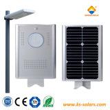 5W-120W integrado al aire libre Jardín de luz solar todo en uno de los LED lámpara solar calle