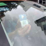 Adesivo de longo alcance UHF RFID brisa do Cartão de Estacionamento