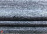 Tessuto di stirata a strisce cationico dello Spandex del poliestere del jacquard per l'indumento