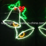 Luz de puerta del hogar de la luz de Bell de la Navidad del LED y decoración del mercado