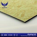 Le marbre de la texture des matériaux de construction en pierre ACP