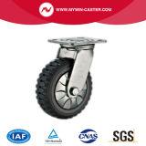 Hochleistungs-PU-Laufkatze-Fußrolle