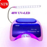 Tabela do secador de unhas de luz LED 48W Lâmpada de unhas com marcação CE