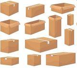 5 capas de la carpeta de cartón corrugado Gluer máquina