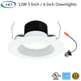 12W 5/6 Zoll Dimmable LED Downlight Umbau-Installationssatz-