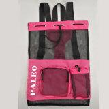 靴のための600dポリエステル網のドローストリング袋