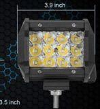 3列の3.9inch 36W LED車作業ライト、