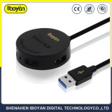 4 in 1 Multifunctionele USB Mobilofoon 4 de Lader van de Haven met Kabel USB