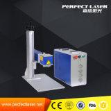 O elevado desempenho usa extensamente a máquina de gravura do laser da fibra no PVC do CPE de /ABS dos metais