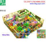 3명의 지면 작은 아이 주제 디자인 실내 장난감 운동장