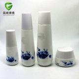 De kosmetische Reeks van het Pakket voor Afgedrukte Ceramische Fles