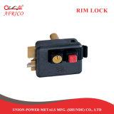 内部の押すボタンが付いている電子縁のドアロックの錠前屋夜ラッチロック