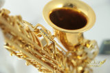 Gelbes Messingalt-Saxophon-Saxophon