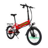 2017 최신 판매 접히는 E 자전거 48V 500W 전기 자전거