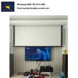 Teatro domestico schermo del proiettore motorizzato 100 pollici