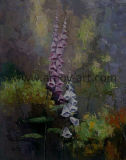 Ручная работа современной декоративной живописи цветочный стены искусства для дома украшения