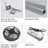4248의 LED 채널 알루미늄 단면도 알루미늄 밀어남