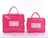 Портативный лакированная кожа PU сумка для пикника короткого замыкания обед льда Bag малых конфеты цвета обед мешок