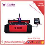 máquina de estaca do laser da fibra do aço 500W inoxidável