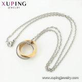 44299 Form-Halsketten-Schmucksachen, einfache Halsketten-neuer Entwurf für Frauen, multi Farbe überzogene Halskette