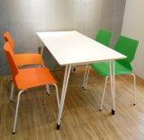 Таблица и стул людей стандарта 4 ANSI/BIFMA обедая