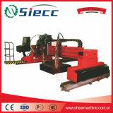 Tipo máquina da tabela de estaca do plasma do CNC para o perfilamento da placa de aço