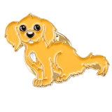 주문 금속 사기질을%s 가진 귀여운 접어젖힌 옷깃 Pin